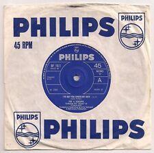 60s MOD 45 THE 4 SEASONS - I'VE GOT YOU UNDER MY SKIN - UK PHILIPS - NR MINT