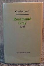 Rosamund Gray 1798 Charles Lamb Woodstock Facsimile Hardback Jacket 1991