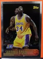 Shaquille O'Neal card NBA at 50 96-97 Topps #220