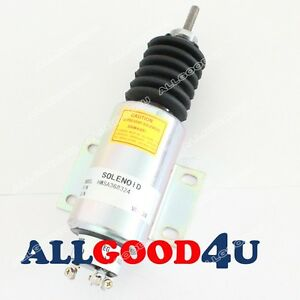 Run-on Stop solenoid for Woodward SA-3683-24 2370 Series for Big Engine