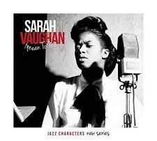 SARAH VAUGHAN - MEAN TO ME NEW CD