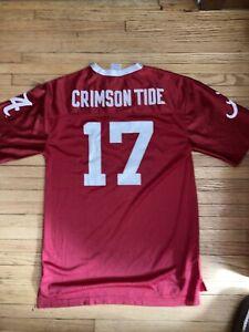 Russell ALABAMA CRIMSON TIDE Jaylen Waddle #17 Football Jersey Size Men's -Small