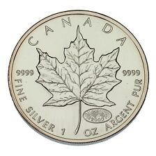 2000 Canada 1 oz Silver Maple Leaf BU, Fireworks Privy
