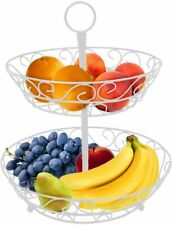 Sorbus 2-Tier Countertop Fruit Basket Holder & Decorative Bowl Stand—Perfect.