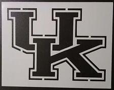 "UK University of Kentucky Wildcats 11"" x 8.5"" Custom Stencil FAST FREE SHIPPING"