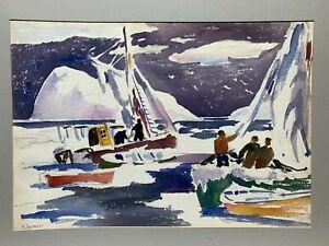 James Floyd Clymer 1920's painting Canada landscape Nova Scotia