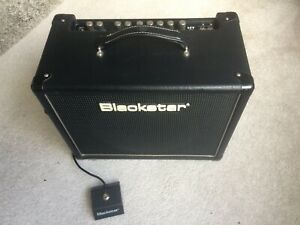 BLACKSTAR HT5r Tube Two Channel Amp VGC,c/w Padded Cover And Footswitch