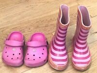 Girls Bundle Of Shoes Size 4-5 JoJo Maman Bebe start-Rite <DD626