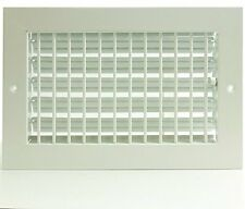 """16"""" x 6"""" ADJUSTABLE DIFFUSER - Vent Duct Cover - Grille Register - Sidewall or C"""