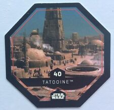 STAR WARS Jeton 40 TATOOINE Planète Cosmic Shells E.Leclerc Collector Image