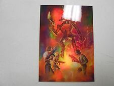1994 Boris 4 Holochrome chase card H6. Hatch-Mech! NM/MN! stunning beauty! LOOK!