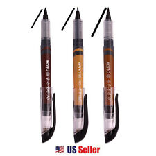 Xeno Calligraphy Brush Pen, Kanji China (Fine, Medium, Bold) 3pcs - Black Ink