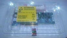 DUAL Port 10GbE 10GE FCoE convergenti SFP + PCI-E 2.0 x8 DELL W775M Qlogic QLE8152