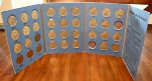 Kennedy Half Dollar Collection Book Starting 1964 (34 Coin Set)