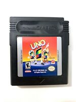 Uno (Nintendo Game Boy Color, 1999)  Tested + Working Authentic!