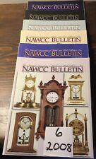 6-2008 NAWCC Bulletin, National Association Watch Clock Coll. Advertising