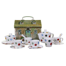 Emma Bridgewater  Tea Set Polka Dot Melamine  Childrens Kids  BRAND NEW