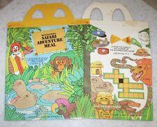 1980 McDonalds Happy Meal Box - Safari Adventures #1