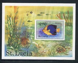 St. Lucia 447, MNH, 1978. Marine Life. x29430