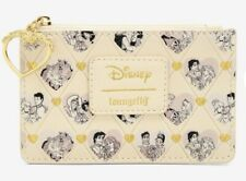 New With Tags! Loungefly Disney Princess Couples Faux Leather Cardholder!
