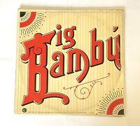 Cheech & Chong Big Bambu 1972 Ode Records SP-77014 Vinyl Record NO ROLLING PAPER