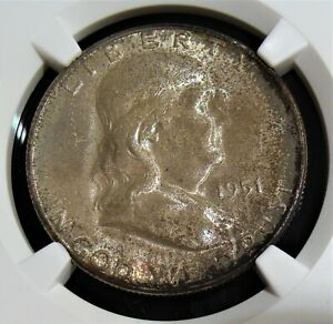 1951-S/s 50C Walking Liberty Half Dollar. MS65 NGC