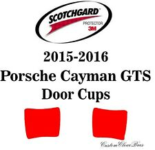 3M Scotchgard Paint Protection Film Clear Pre-Cut 2015 2016 Porsche Cayman GTS