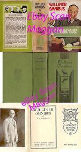 P G Wodehouse  MULLINER OMNIBUS  1st w/ ORIGINAL dj 1935 Scarce