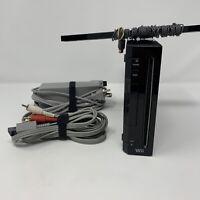 Nintendo Wii Console RVL-001 GameCube Compatible Black Game Console