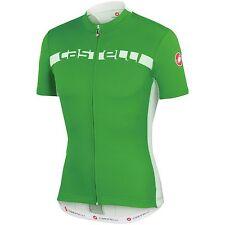 Castelli Men's Regular Size Cycling Jerseys with Full Zipper