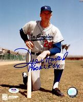 Frank Howard autographed inscribed Los Angeles Dodgers MLB signed 8x10 photo PSA