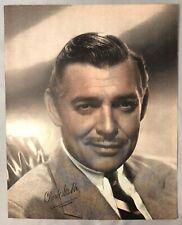 1940s CLARK GABLE Mero Goldwyn Mayer Pictures MGM 8x10 Print VINTAGE Original