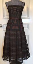 BCBG MAXAZRIA  Evening Dresses Size 2 Color Brown Knee length Spaghetti Strap