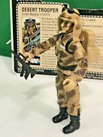 GI Joe ARAH 1985 Dusty near complete WITH FILE CARD vintage EXCELLENT CONDITION