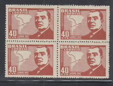 Brazil Plate Flaw 1947 Sc 671 broken O in JUNHO Mint Never Hinged