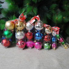 12x Künstlicher Hängen Weihnachtsbaumdeko Tannenbaum Christbaum Baumschmuck set