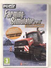 farming simulator 2013 extension officielle  jeu pc cd dvd rom neuf  blister c3