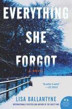 Everything She Forgot by Lisa Ballantyne (2015, Paperback)