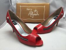 Hot In Hollywood Shoes Size 11M Red 292695 NIB
