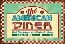 The American Diner Vintage Metal Sign - NEW