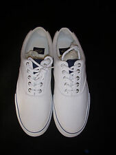 Dockers White Canvas Upper Sneakers/Shoes Size 10 M - Absolutely New!