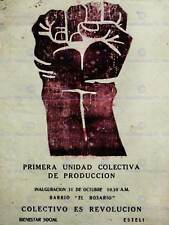 PROPAGANDA NICARAGUA REVOLUTION FIST COLLECTIVE LARGE POSTER ART PRINT BB2497A
