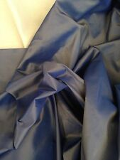Arcilla Azul Diseñador Tela De Cortina De Seda Sintética Taffetta 10 Metro