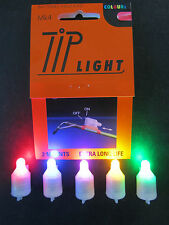 2 x MK4 TIP LIGHT FOR NIGHT BEACH FISHING BATTERIES INCLUDED IN ALL COLOURS