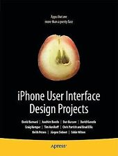 NEW - iPhone User Interface Design Projects