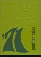 Birch Run MI Birch Run High School yearbook 1971 Michigan Grades 12-7