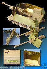 LionRoar 1/35 Armour/parts for 39(H)105mm LeFH18/Panzerjaeger 39(H)for Trumpeter