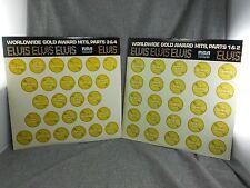 "ELVIS PRESLEY.  ""WORLD WIDE 50 GOLD AWARD HITS VOL.1&2 3&4' LP BOX SET Mono"