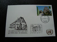 United Nations (Vienna) - Card 14/9/2001 (cy51)