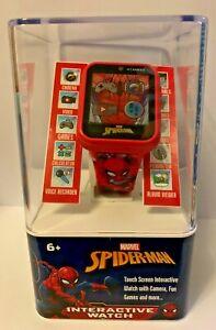 Spider Man Kids Smart Watch Red NEW